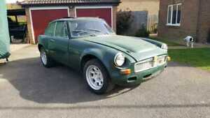 MGB GT V8, Sebring, Barn Find, Restoration Project, V8.