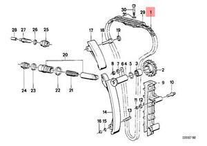 Genuine BMW CMSP E24 E28 E30 E34 E36 Z3 Cabrio Timing