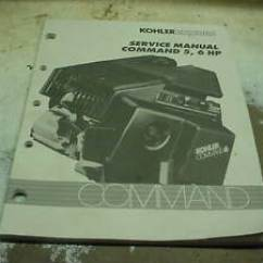 Kohler Mand Racing Parts 2001 Ford F150 Starter Solenoid Wiring Diagram Command 5 6 Hp Small Engine Lawn Mower Tractor Repair Book Image Is Loading