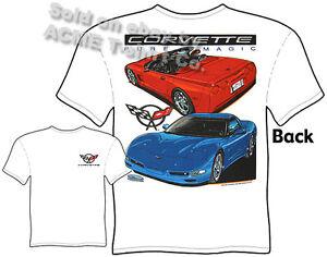 Mens T-Shirt by Joe Blow Tees 100/% Cotton Chevrolet 1997 to 2004 Corvette C5