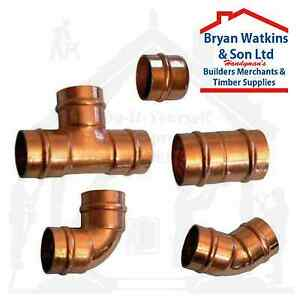 8mm Solder Ring Copper Yorkshire Plumbing Pipe Fittings