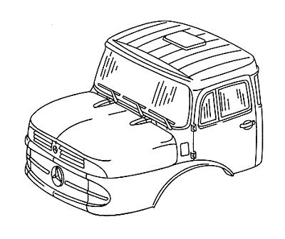 Mercedes-Benz L/LK/LS 1924 1928 2624 2628 BM 346 343