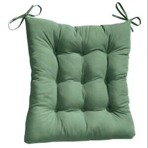2 pc rocking chair cushions cover rentals des moines 2pc padded cushion set hunter green 707569029847 ebay image is loading