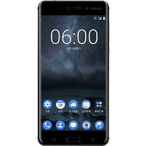 Brand New Nokia 6 Black 32GB/4GB Octa-Core Dual SIM Android 7.0 Smartphone US