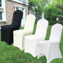 Efavormart Wedding Chair Covers Star Trek For Sale 50pcs White Polyester Banquet Cover 100 Universal Stretch Spandex Party Hotel Decor