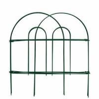 Garden Fence 18 in x 50 ft Rustproof Green Iron Wire ...