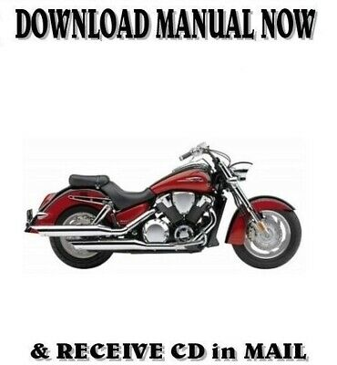 2004 Honda VTX1800C factory repair shop service manual on