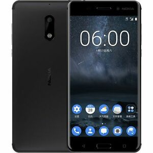 Unlocked Nokia 6 Octa Core Android 7.0 4GB 32/ 64GB Dual Sim 5.5'' 16MP Touch ID