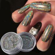 galaxy holo flakes chrome holographic