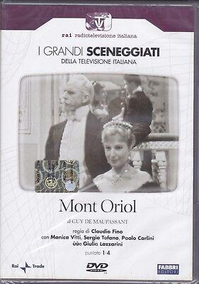 2 Dvd Sceneggiati Rai **MONT ORIOL** con Monica Vitti completa nuovo 1958   eBay