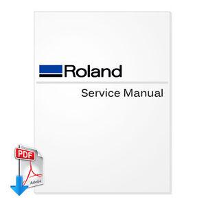 ROLAND SolJet Pro III XJ-540, XJ-640, XJ-740 English PDF