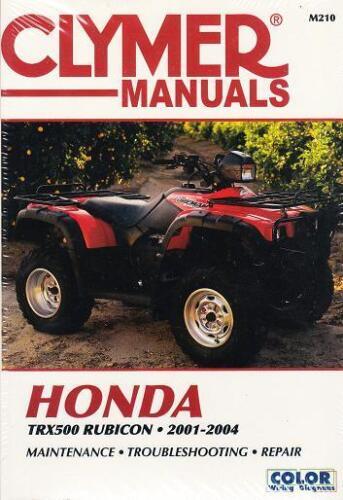 2001 2004 Honda Trx500 Rubicon Atv