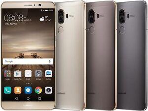 "Huawei Mate 9 MHA-L29 (FACTORY UNLOCKED) 5.9"" 64GB, White Gold Mocha Gray Silver"