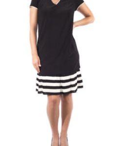 Image is loading women  joseph ribkoff black off white also   neck dress size uk rh ebay