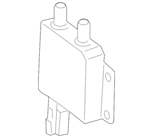 Genuine Mercedes-Benz Wiring Harness Connector 221-820-37