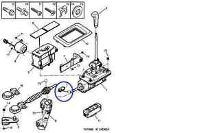 PEUGEOT 406 CITROEN XSARA XANTIA AUTO GEAR CHANGE CABLE