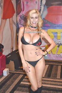 Image Is Loading Alexis Fawx 8x12 Original Photo 25 Busty Babe