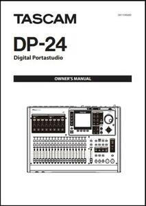 Tascam DP-24 Digital Portastudio Owner's Manual