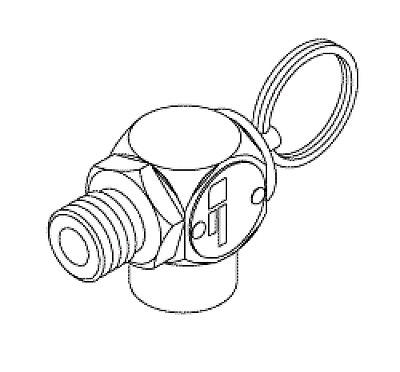 SAFETY VALVE (35 PSI) for MIDMARK M9/M11, PELTON & CRANE