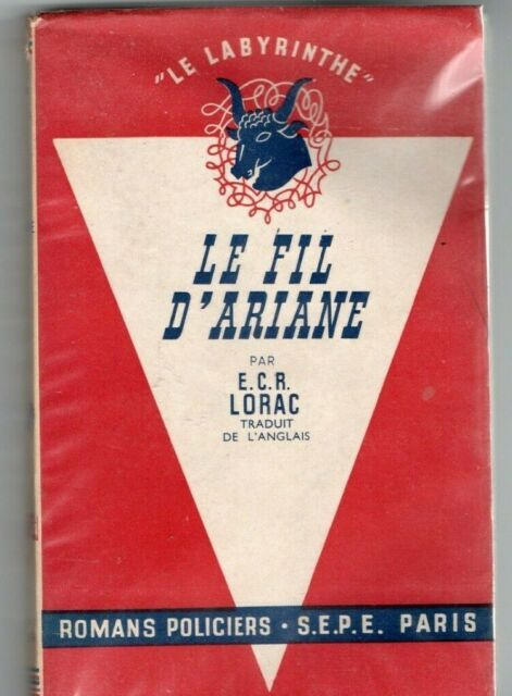 Fil D Ariane En Anglais : ariane, anglais, D'ARIANE, E.C.R., Lorac, Livre, Occasion