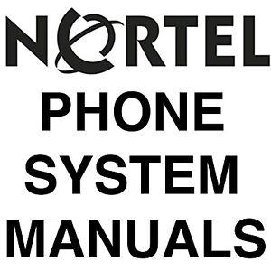 BIGGEST NORSTAR NORTEL MANUALS Phone SYSTEM MANUAL MANUALS