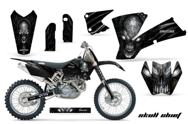 CREATORX GRAPHICS KIT FOR KTM 03-04 EXC XC 01-02 SX 125