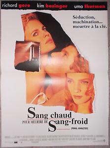 Sang Chaud Pour Meurtre De Sang-froid : chaud, meurtre, sang-froid, Poster, Blood, Cold-blooded, Murder, Richard, Basinger, 40x60cm