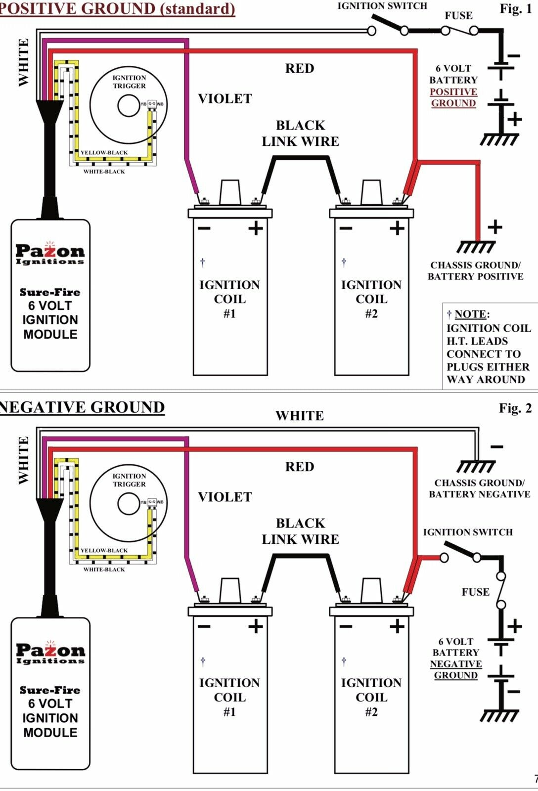 hight resolution of pazon wiring diagram wiring diagram pass pazon wiring diagram pazon electronic ignition twin cylinder triumph bsa