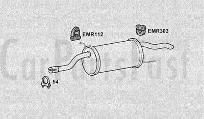 Caja Trasera de Escape Fiat Grande Punto 1.3 Diesel