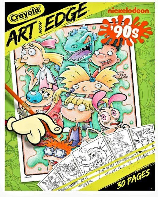 Nickelodeon 90s Cartoons : nickelodeon, cartoons, Crayola, Coloring, Pages, Nickelodeon, Online