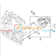 Water Pump 8980476884 for John Deere Excavator 135D 135G