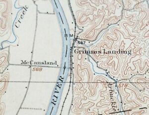 Buzzfeed staff steve lovelace, the creator of the map, said in a blog post his selection of brands that represented each state was subjective, but he tried to find companies. Xindian 1908 Winfield Bancroft Southside West Virginia Antique Usgs Topographic Map Topo Packaging Available Ska Skt Co Id