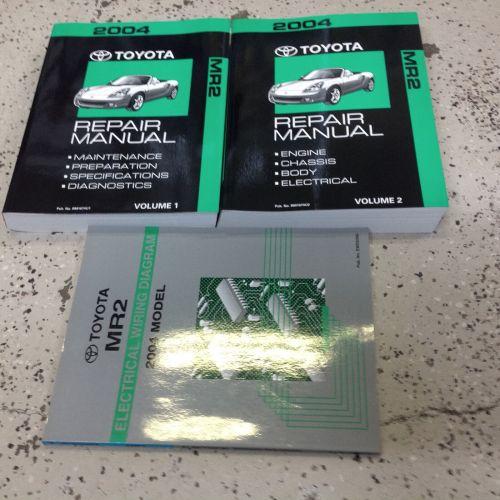 small resolution of  array toyota mr2 mr 2 service repair shop manual set w ewd oem workshop rh