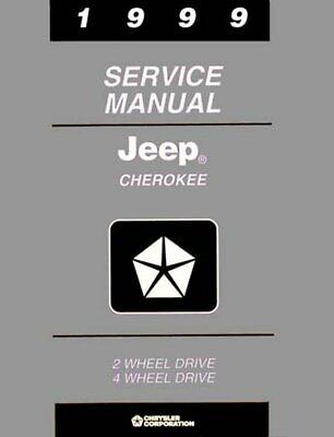 Bishko OEM Repair Maintenance Shop Manual Bound for Jeep
