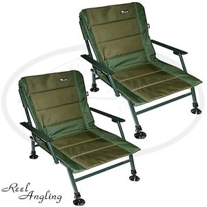 fishing chair with adjustable legs office kenya 2x chairs ngt xpr carp coarse tackle arm image is loading