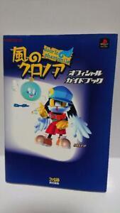 KAZE NO KLONOA Door to Phantomile Guide Sony PS 1998 Book 9784893669681   eBay