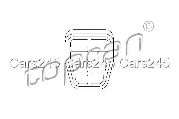 Brake Pedal Rubber Pads Manual Trans. x2 pcs Fits VW Carat