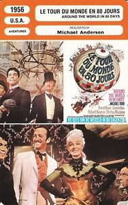 Le Tour Du Monde En Quatre-vingts Jours (film, 1956) : monde, quatre-vingts, jours, (film,, 1956), Fiche, Cinéma, MICHAEL, ANDERSON, MONDE, JOURS