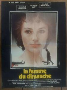 La Femme Du Dimanche Film : femme, dimanche, Poster, Ladies, Sunday, Luigi, Comencini, Marcello, Mastroianni