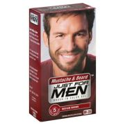 men brush-in facial hair