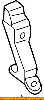 Dodge CHRYSLER OEM 01-03 Durango Front Seat Belt-Buckle
