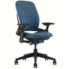 Steelcase Leap Chair V2 Review Classroom Chairs New Adjustable Buzz2 Blue Fabric Desk Seat - Black Frame | Ebay