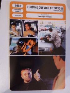 L Homme Qui Voulait Savoir : homme, voulait, savoir, FICHE, CINEMA,L'HOMME, VOULAIT, SAVOIR,, GEORGE, SLUIZER,, 1988,, Donnadieu