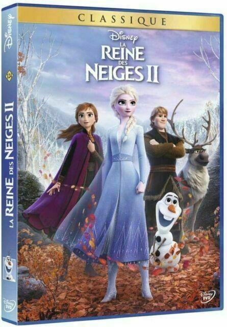 Dvd La Reine Des Neiges : reine, neiges, Reine, Neiges, (DVD,, 2020), Achetez