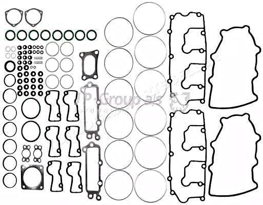 Cylinder Head Gasket Set JP GROUP Fits PORSCHE 964