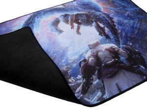 details sur monster hunter world iceborne xl gaming tapis de souris 70x39cm officiellement lgpl afficher le titre d origine
