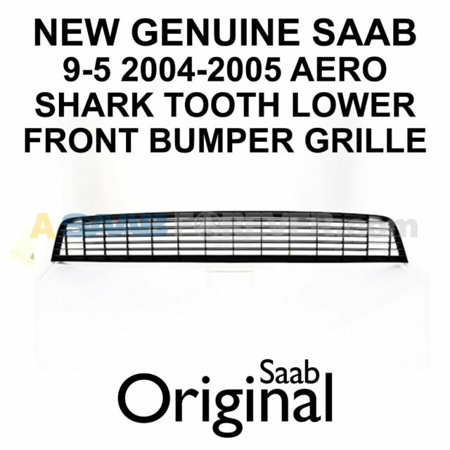 NEW GENUINE SAAB 9-5 AERO LOWER GRILLE FRONT BUMPER 04-05