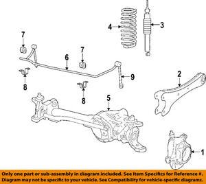 ford ka front suspension diagram 2007 dodge caliber remote starter wiring oem 05 07 f 350 super duty shock au2z18v124ac image is loading