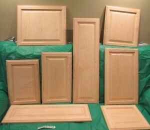 raised panel kitchen cabinets tables for solid wood maple unfinished cabinet door image is loading