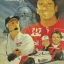 1993 Indianapolis 500 Yearbook Hungness E. Fittipaldi Marlboro Team Penske